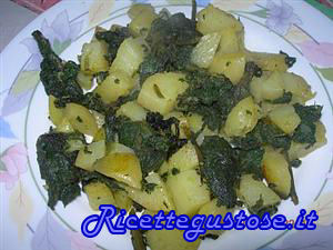 Patate e borragine