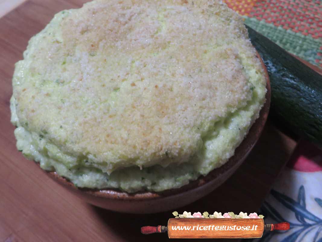 Ricetta soufflè zucchine e patate