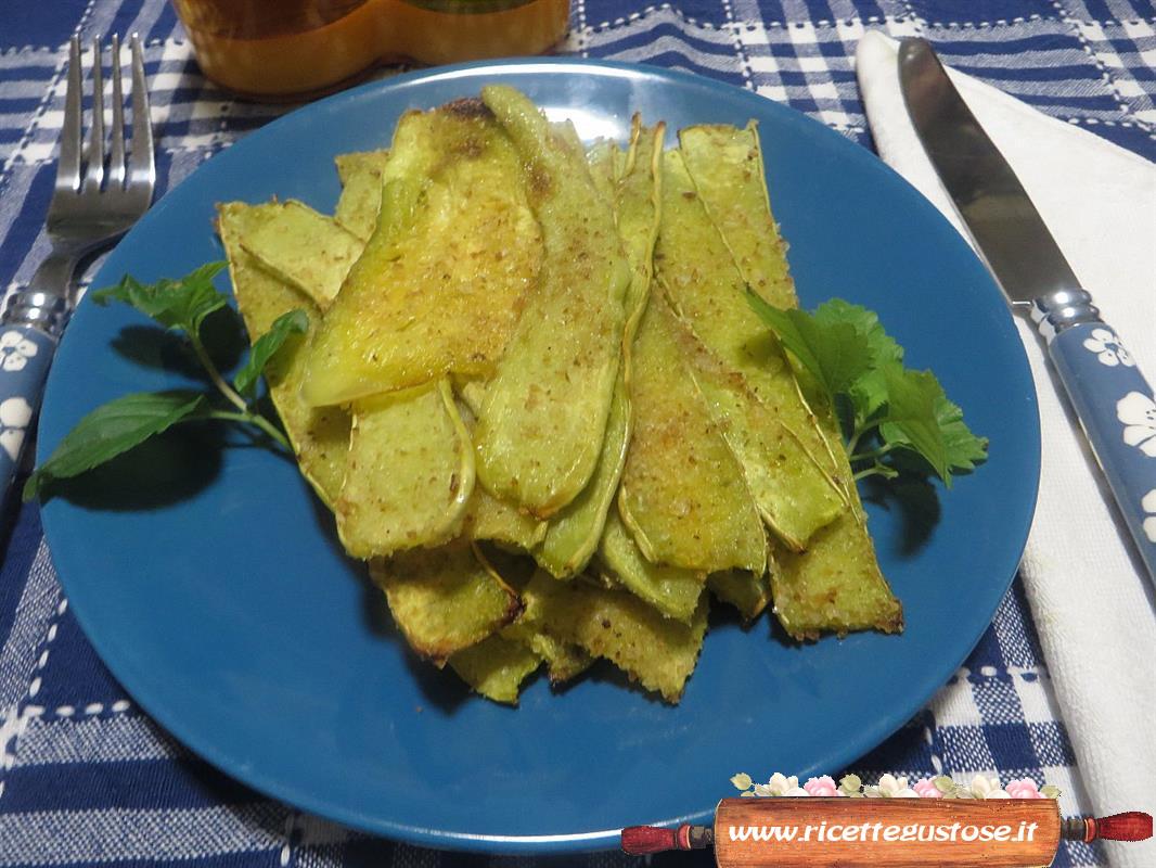 Ricetta Zucchine Trombetta.Zucchine Trombetta Gratinate In Forno