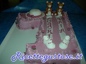 Torta decorata compleanno bimba con orsetti torte decorate for Decorazioni compleanno bimba