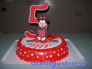 Torta Decorata Con Minnie Ballerina In 3d Decorazioni