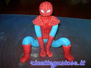 Tutorial Spiderman in pasta di gomma o gum paste
