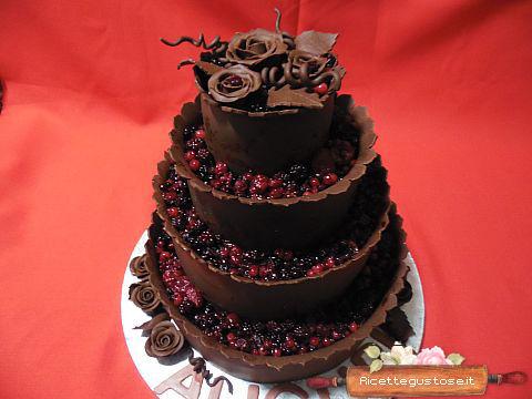 Ricette torte decorate con cioccolato plastico