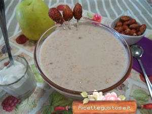 smoothie fragoline e marsala