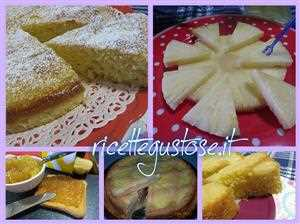 ricette ananas