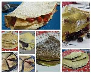 ricette crepes dolci