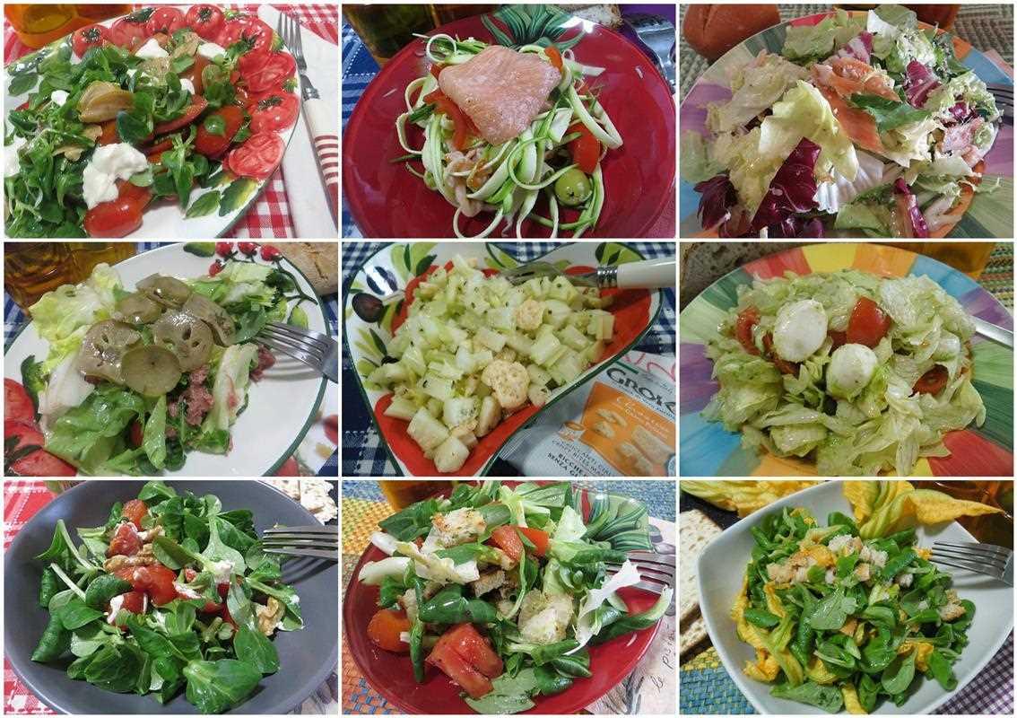 Ricette insalate sfiziose e gustose ricette insalate for Ricette insalate