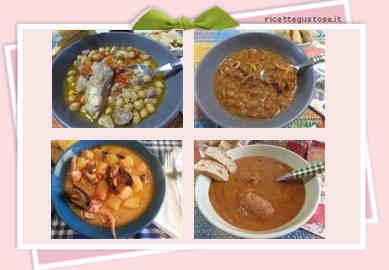 Ricette primi piatti ricette di zuppe e minestre con for Ricette primi piatti di carne