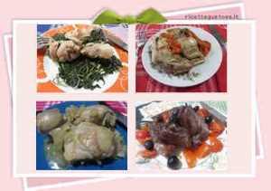 Ricette secondi piatti senza carne