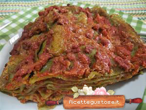 Lasagna verde all'ortica