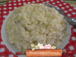 Risotto vodka e gorgonzola