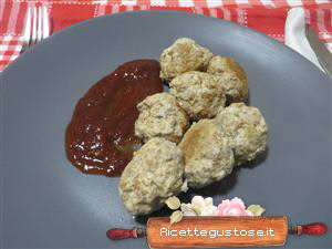 polpette di pollo light