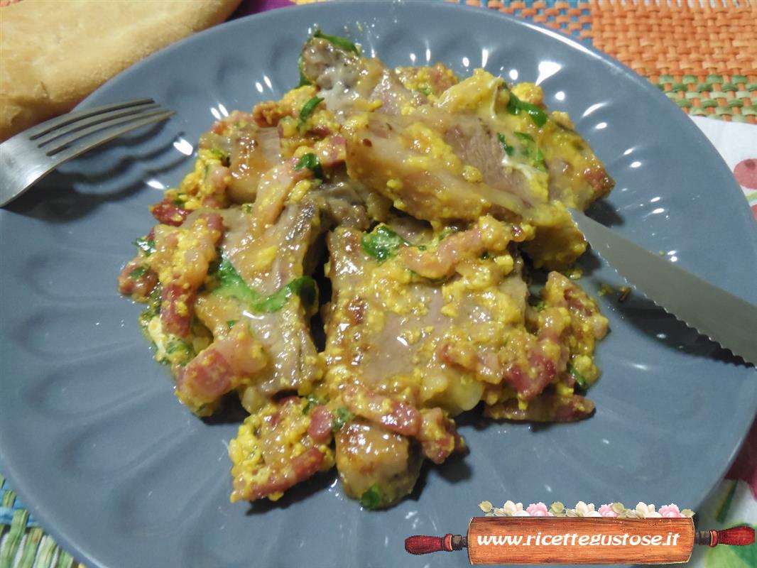 Agnello ricetta agnello in fricassea secondi di carne for Secondi di carne