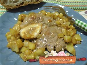 Ricetta ossibuchi con melanzane e birra for Cucinare ossobuco