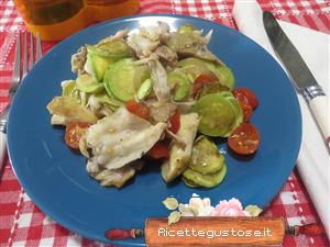 Coniglio freddo ricetta coniglio freddo con zucchine for Cucinare zucchine trombetta