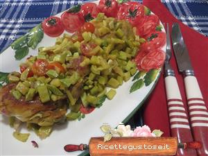 Ricetta pollo insalata zucchine trombetta for Cucinare zucchine trombetta