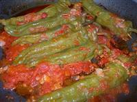 Ricetta friggitelli ripieni con carne macinata o macinato for Cucinare friggitelli