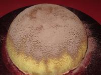 Ricetta zuccotto alla frutta sciroppata con pan di spagna for Decorazione zuccotto