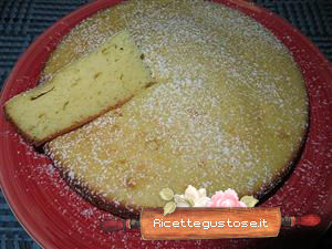 torta al limone e yogurt light