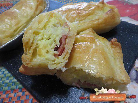 Tortini salati porri e mortadella ricette torte salate - Torte salate decorate ...