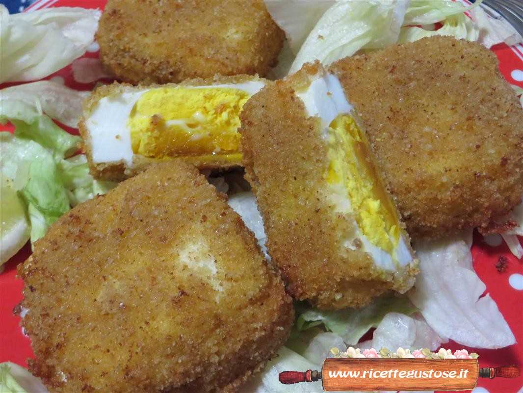 Cotolette di uova sode