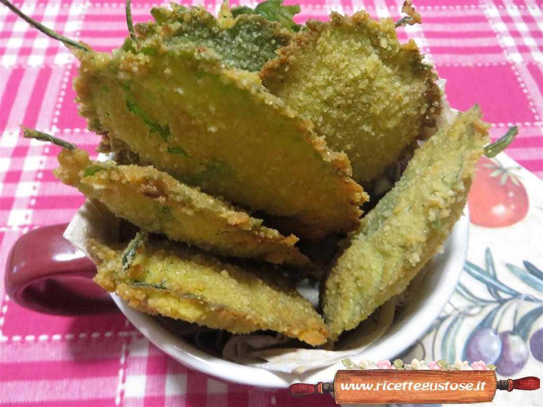 Foglie di ortica panate e fritte