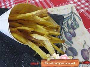 sticks di platano fritto