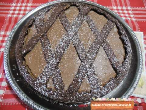 Crostata cacao e ricotta