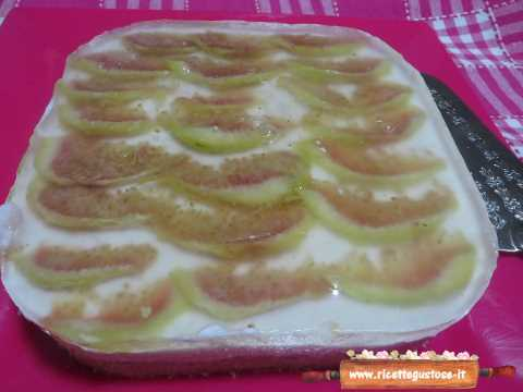 Cheesecake fichi freschi e yogurt