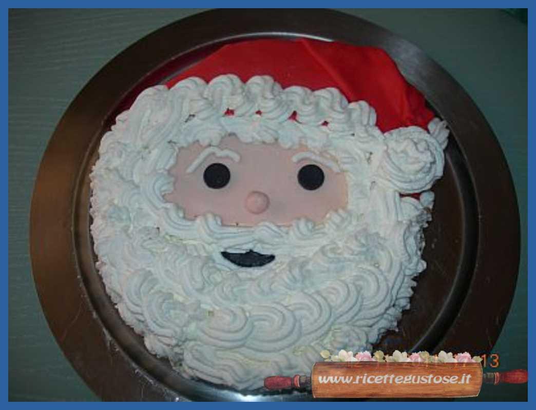 Torte Decorate Per Natale torta babbo natale