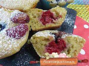 muffin light frutti di bosco