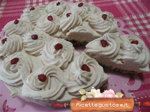 cheesecake melagrana e rice krispies